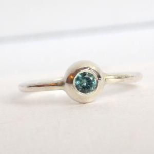 Two Birthstone Stacking Rings: Mini..