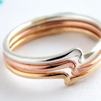 Twister Stacking Ring: twister ring..
