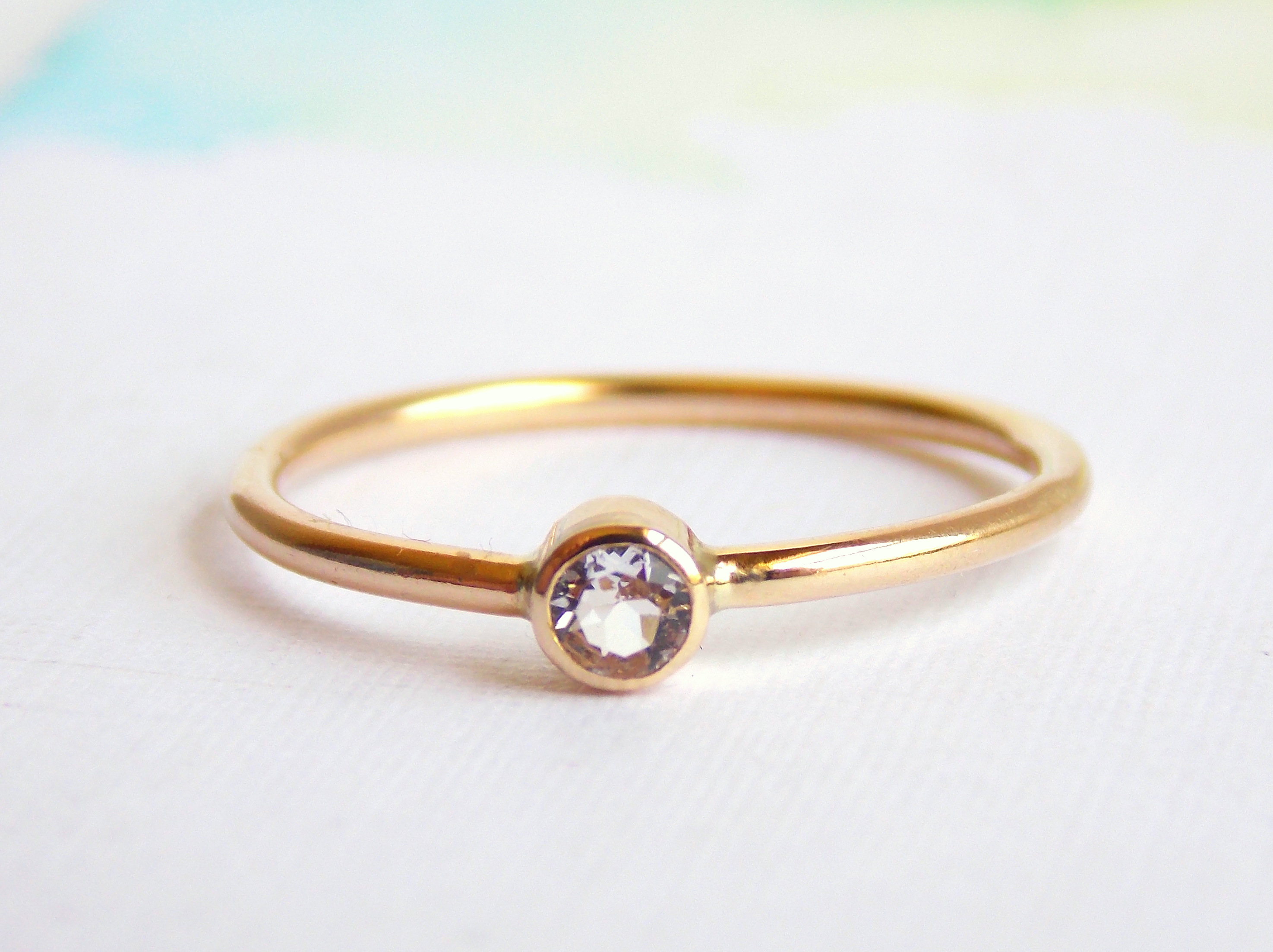 morganite gold belindasaville com with atop white blush a blogs signature setting store in hammered new delicate rings news my this hued band set ring sapphire and features prong